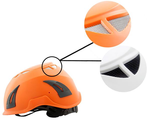 rock climbing helmet