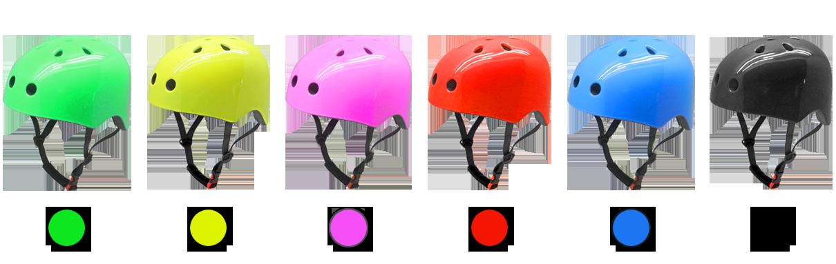 classic skating helmet color