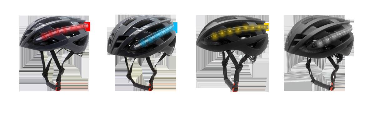 LED bike helmets R6