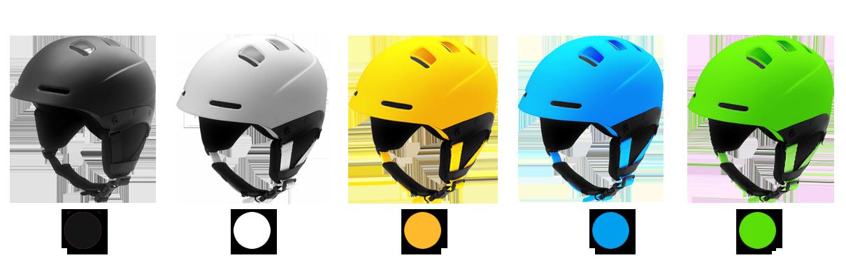 skiing helmet s06 color