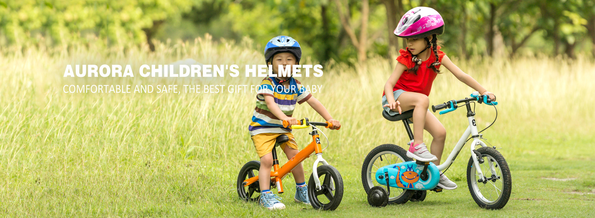 childrens cycle helmet c01 banner