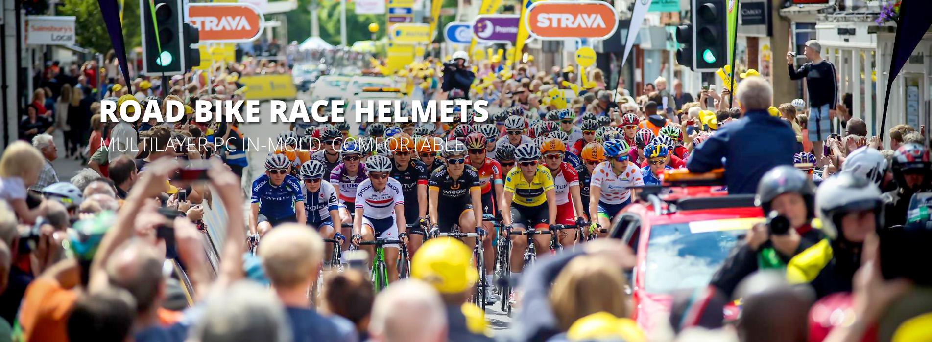 racing bicycle helmet AU-BM03 banner