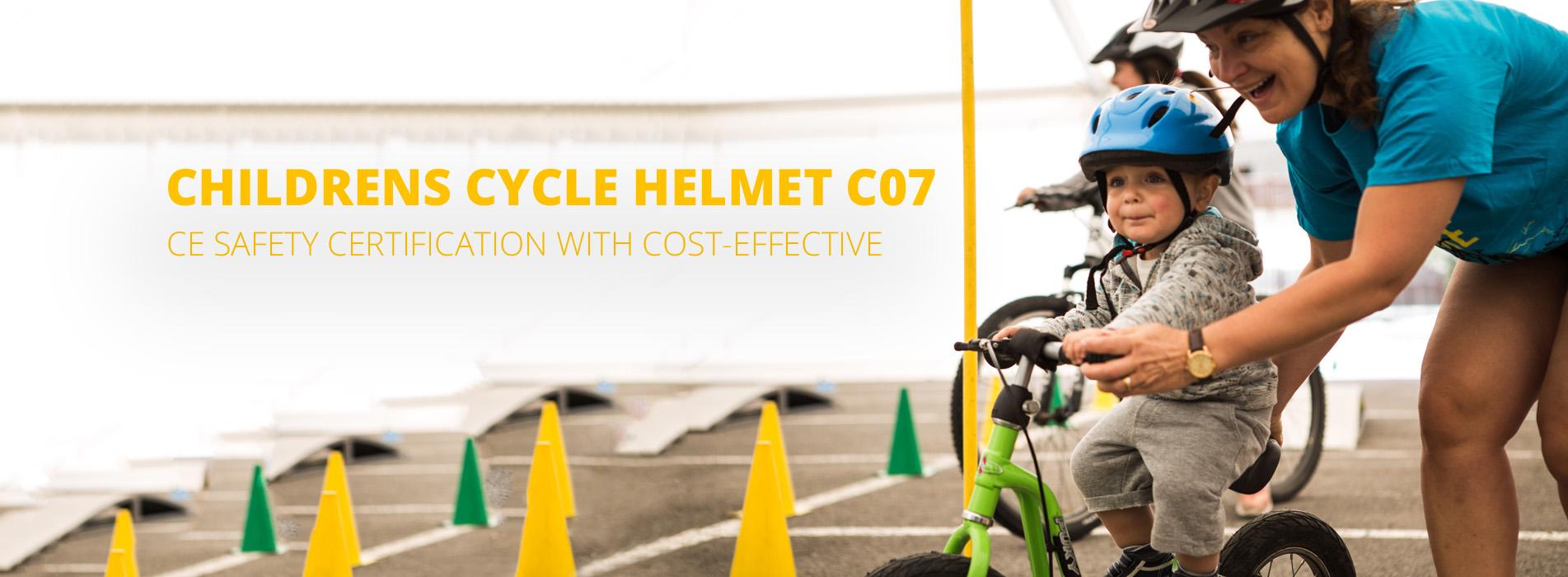 childrens cycle helmet c07 banner
