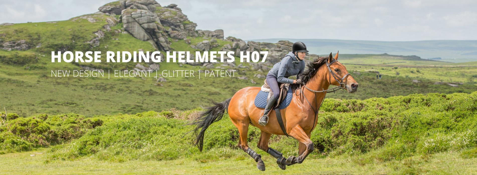 riding helmets h07 banner
