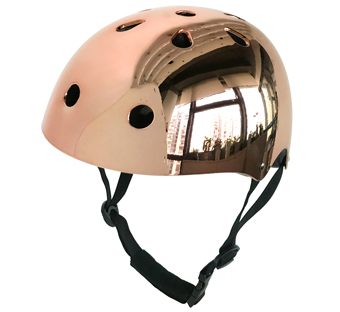 electroplating helmet for skate