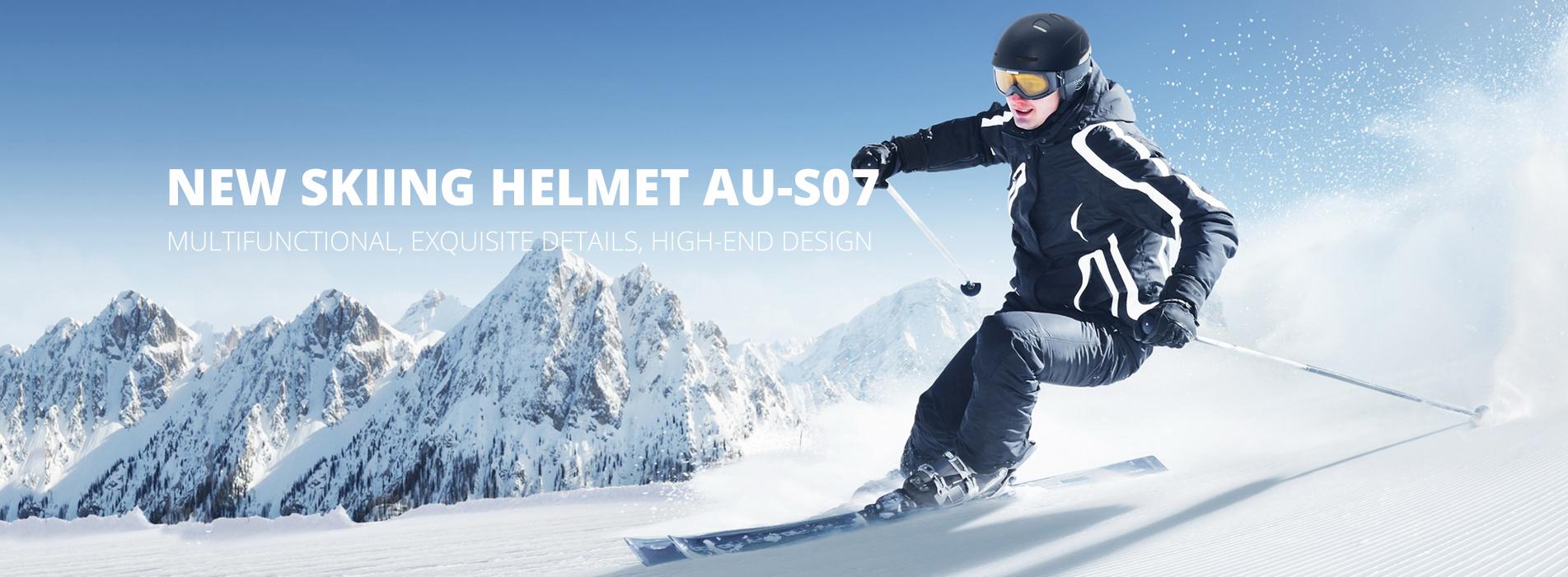 skiing helmet s07 banner